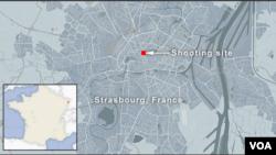 شهر مرزی استراسبورگ در شرقی ترین نقطه فرانسه
