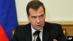 드미트리 메드베데프 러시아 총리. (자료사진)
