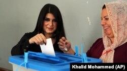 伊拉克庫爾德人星期一舉行獨立公投。