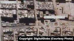 Chương trình Vệ tinh Hoạt động của Liên Hiệp Quốc (UNOSAT) bắt đầu lên họa đồ về mức độ tàn phá ở đông Aleppo