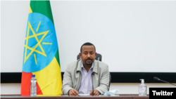 Umushikiranganji wa mbere wa Etiyopiya Abiy Ahmed