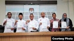 KPU hari Rabu (30/1) resmi mengumumkan 49 caleg mantan terpidana korupsi untuk memenuhi UU Pemilu (courtesy: KPU.go.id).