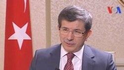 Davutoğlu: 'Türkiye'yle ABD'nin Suriye Konusunda Ortak Posizyonu Var'