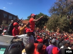 MDC Alliance protest ...