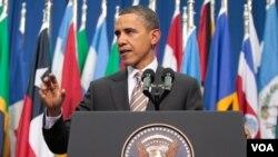 """Obama aseguró que la diferencia entre su compromiso con la región y el de presidentes previos es """"la oportunidad actual""""."""