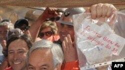 Tổng thống Chile Sebastian Pinera, 22/8/2010