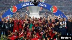 Portugal gitahukanye igikombe c'Ubulaya