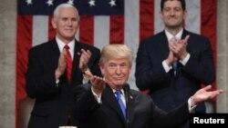 Predsjednik SAD Donald Trump tokom govora o Stanju nacije