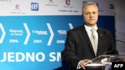 Ministar ekonomije Mlađan Dinkić (arhivski snimak)