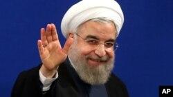 Shugaban Kasa na Iran Hassan Rouhani