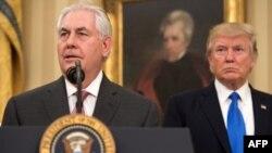 L'ancien secrétaire d'Etat Rex Tillerson