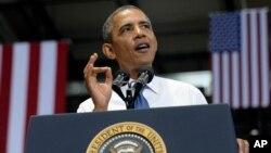 Predsednik Obama tokom današnjeg govora u gradu Čatanuga, u saveznoj državi Tenesi