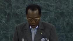 Allocution du President Idriss Deby du Tchad