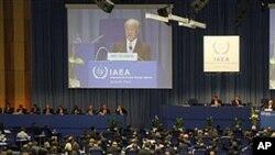 19일 비엔나에서 열린 국제원자력기구 총회
