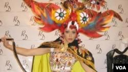 El traje de diabla que usará Miss Perú en el concurso mundial.