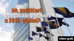 Šta bh. političari obećavaju građanima u 2018. godini?