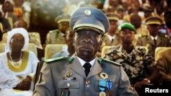 Le chef de l'ex-junte malienne, le général Amadou Sanogo.