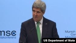 美国国务卿克里(美国国务院截图)