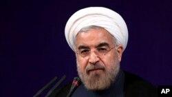 Tổng thống Iran Hasan Rouhani.