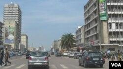 Suasana di kaswasan bisnis Kinshasa, ibukota Republik Demokratik Kongo (Foto: dok).