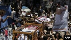 Anti-vladini protesti u glavnom gradu Jemena, Sani, 25. septembar, 2011.