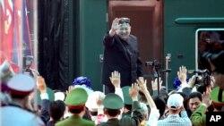 Ông Kim Jong Un tới Việt Nam hồi tháng Hai năm nay.