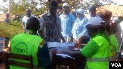 Guiné-Bissau, mesa de voto, Eleições Gerais de 2014