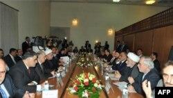 Lideri najvećeg iračkog političkog bloka tokom jučerašnjeg zasedanja, u Bagdadu