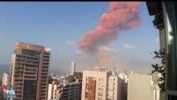 نخستین تصاویر بعد از انفجار بزرگ در پایتخت لبنان؛ مرگ دستکم ۱۰ نفر اعلام شد