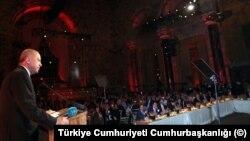 Cumhurbaşkanı Recep Tayyip Erdoğan, New York'ta iş dünyasıyla biraraya geldi.