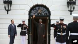 Le président nigérian Muhammadu Buhari, lors de sa dernière visite, à la Maison Blanche à Washington, le 31 mars 2016.