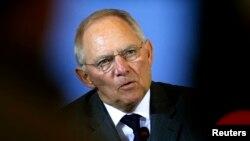 Menkeu Keuangan Jerman, Wolfgang Schaeuble di Berlin, 25 Maret 2013 (Foto: dok). Schaeuble memperkirakan paket bantuan mendatang untuk Yunani akan berjumlah lebih sedikit dibandingkan yang dijanjikan saat ini.