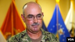 Kontra-admiral John Ring, smijenjeni komandant zatvora Gvantanamo, Foto: VOA