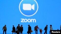 Pentagon mengkhawatirkan masalah keamanan pada aplikasi Zoom (foto: ilustrasi).