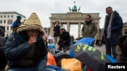 یک پناهجوی افغان در برلین
