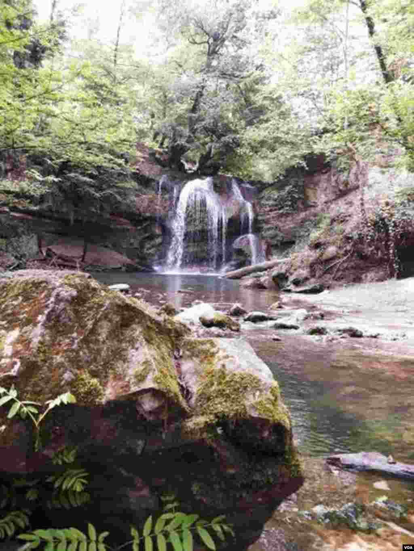 هفت آبشار در شهرستان سوادکوه، مازندران عکس: الهه (ارسالی شما)