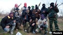 Бойцы Свободной сирийской армии.