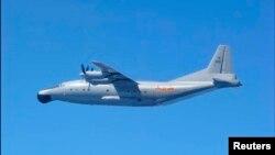 資料照:中國空軍Y-8軍機