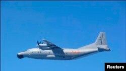 中國空軍Y-8軍機。