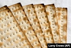 Matzo is a staple at all seders. The unleavened bread reminds those at the seder that their ancestors did not have time to let their bread rise before fleeing Egypt.