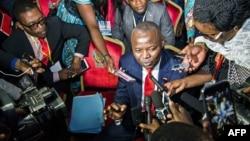 Vital Kamerhe, chef de file de la frange de l'opposition présente au dialogue national, à Kinshasa, 1er septembre 2016.