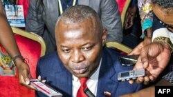 """Vital Kamerhe, chef du troisième parti d'opposition à l'Assemblée nationale est co-modérateur des assises """"dialogue national"""" à Kinshasa, 1er septembre 2016."""