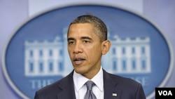 Presiden Barack Obama menyerukan agar Mesir segera mengakhiri kekuasaan darurat dan menghentikan peradilan militer bagi sipil (foto:dok).