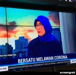 Sekjen PERSI Dr Lia Gardenia. (Foto: screengrab)