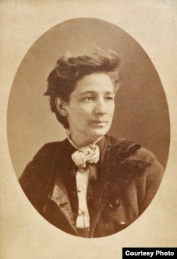A portrait of Victoria Woodhull, who in 1872 became the first American woman to run for the presidential ticket. (photo courtesy of the New-York Historical Society)