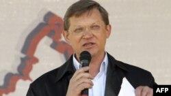 Ông Vladimir Ryzhkov, một trong những nhà lãnh đạo của một liên minh đối lập ở Nga