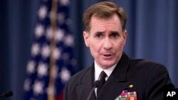 미 국무부의 존 커비 대변인. (자료사진)