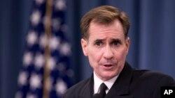 Ảnh tư liệu - Người phát ngôn Bộ Ngoại giao Mỹ John Kirby.