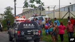 Complexo Penitenciário Anisio Jobim, em Manaus