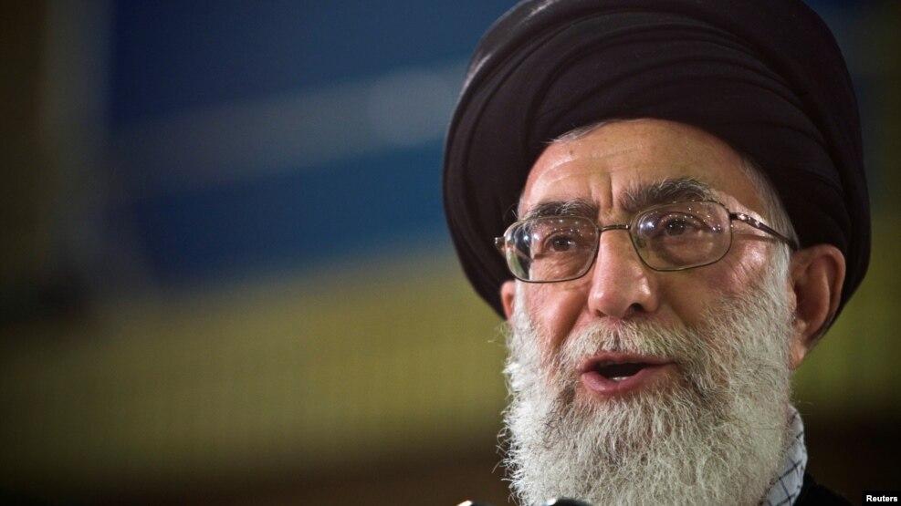 Giáo chủ Ayatollah Ali Khamenei, lãnh tụ tối cao của Iran.
